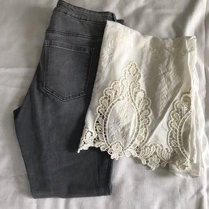 Athleta Jeans - Athletes High Waisted Sculptek Skinny Jeans 👖 6p